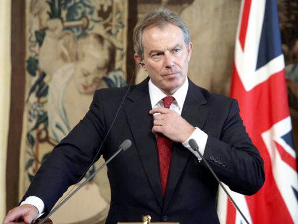 Tony Blair, ex primo ministro britannico e inviato di pace del Quartetto per il Medio Oriente