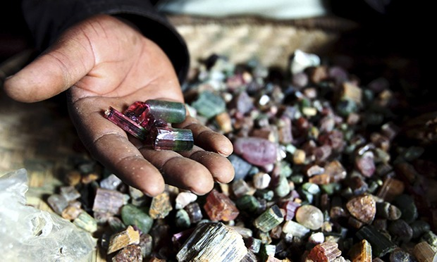 To match Feature CONGO-DEMOCRATIC/MINERALS/