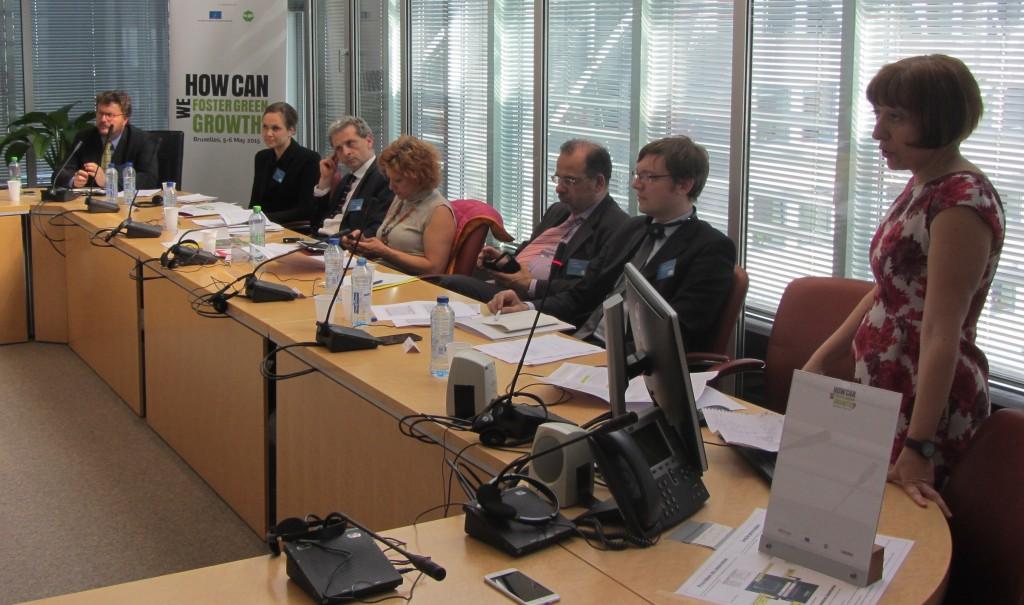 I relatori della prima giornata di How can We Foster Green Growth