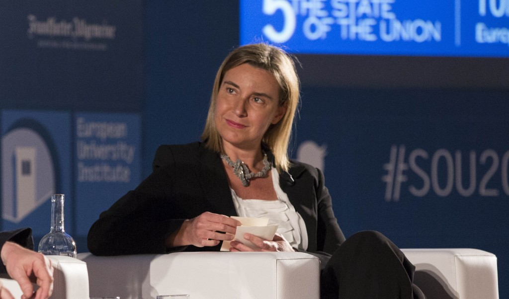 VP Mogherini to the State of the Union