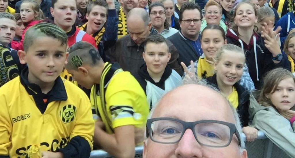 Foto tratta dalla pagina Facebook di Frans Timmermans