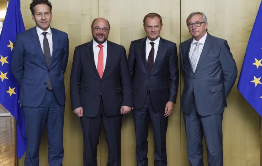 I presidenti di Eurogruppo, Parlamento Ue, Consiglio europeo e Commissione