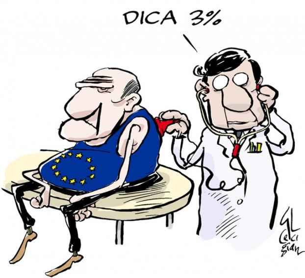 La vignetta vincitrice del premio della giuria nella passata edizione (Fonte: internazionale.it)