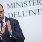 Il ministyro dell'Interno, Angelino Alfano