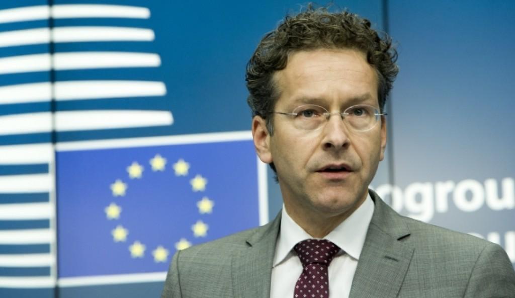 Il presidente dell'Eurogruppo Dijsselbloem - foto Consiglio Ue