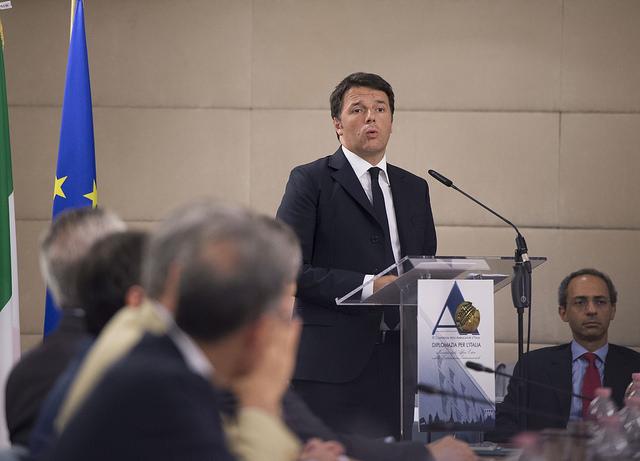 Il premier Renzi alla XI Conferenza degli ambasciatori italiani (Fonte: Palazzo Chigi)