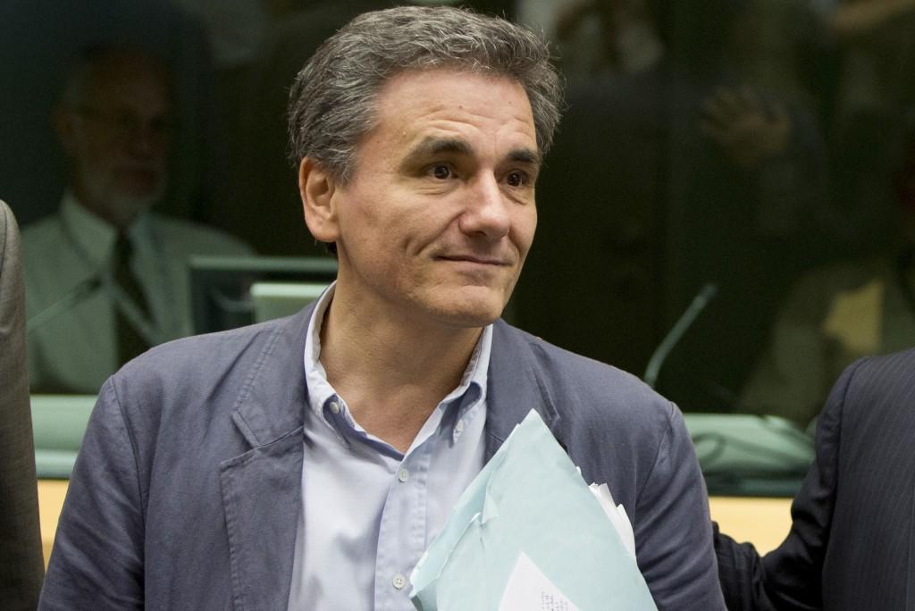 Il ministro delle Finanze greco Euclid Tsakalotos