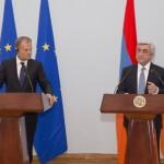 Tusk in Armenia: Ue vuole approfondire relazioni ma si risolva conflitto con Azerbaijan