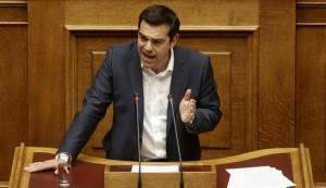 Tsipras Parlamento