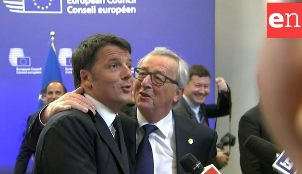 Juncker Renzi