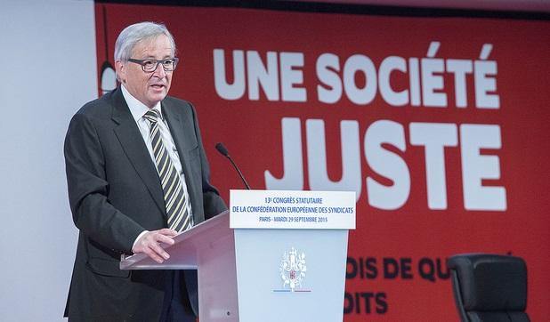 L'intervento di Juncker al congresso dell'Etuc