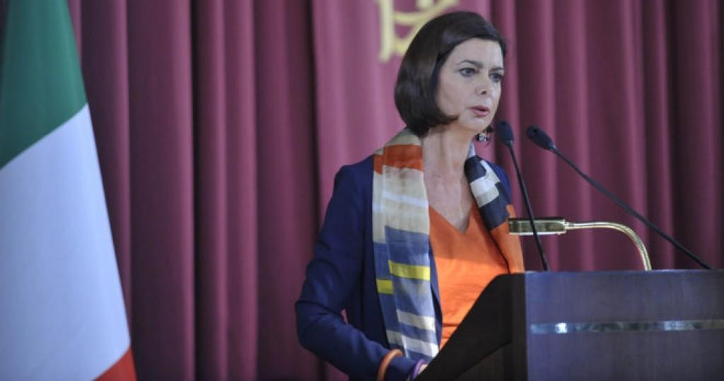 La presidente della Camera Laura Boldrini (Foto: Battaglia, Fonte: Camera dei deputati)