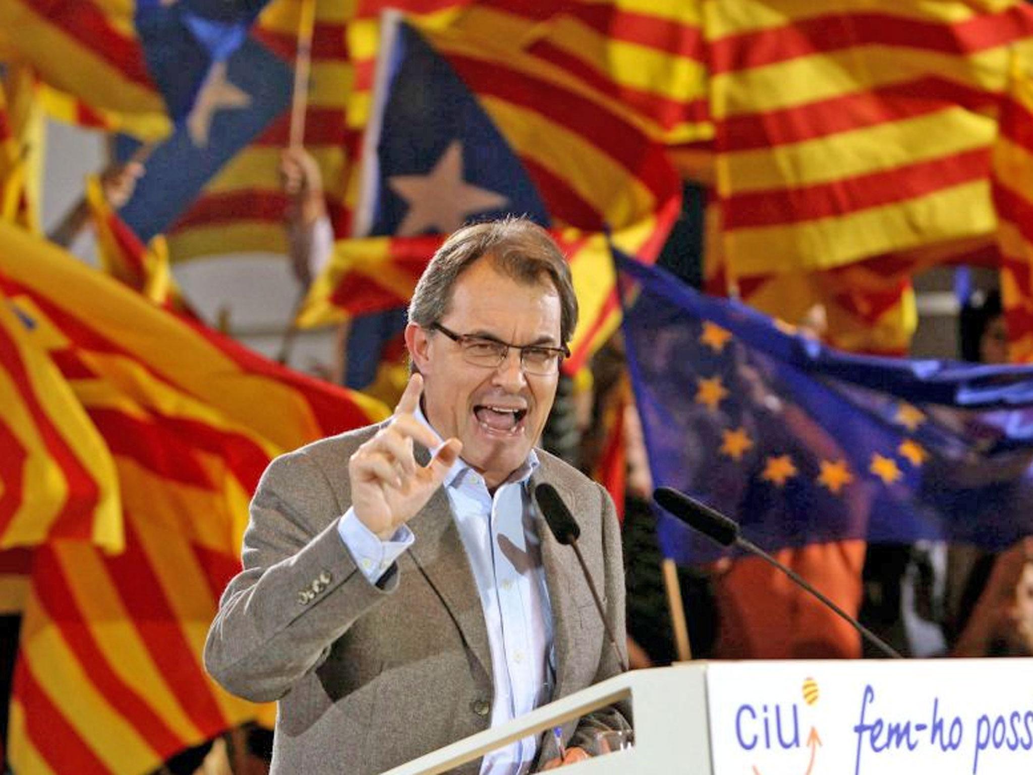 Artur Mas, presidente uscente del governo catalano e respinto dalla CUP per il prossimo governo (www.eunews.it)