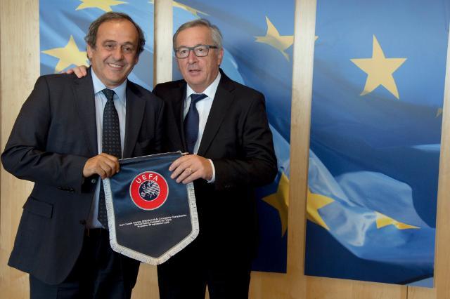 Platini Juncker