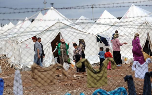 Campo profughi Turchia