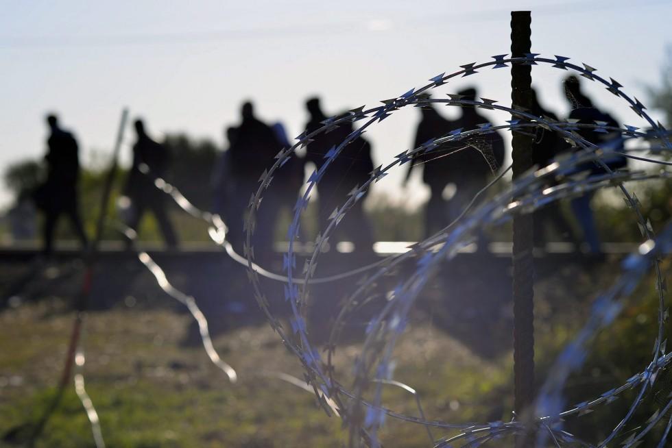 Migranti barriera