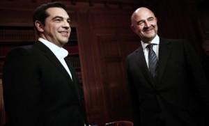Moscovici Tsipras Grecia