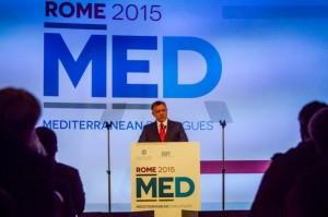 Rome Mediterranean Dialogues 2015, Mediterraneo, Ispi, Gentiloni