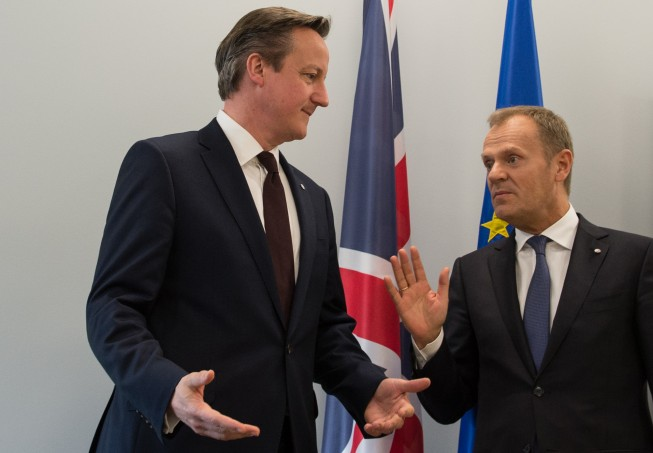 brexit cameron tusk