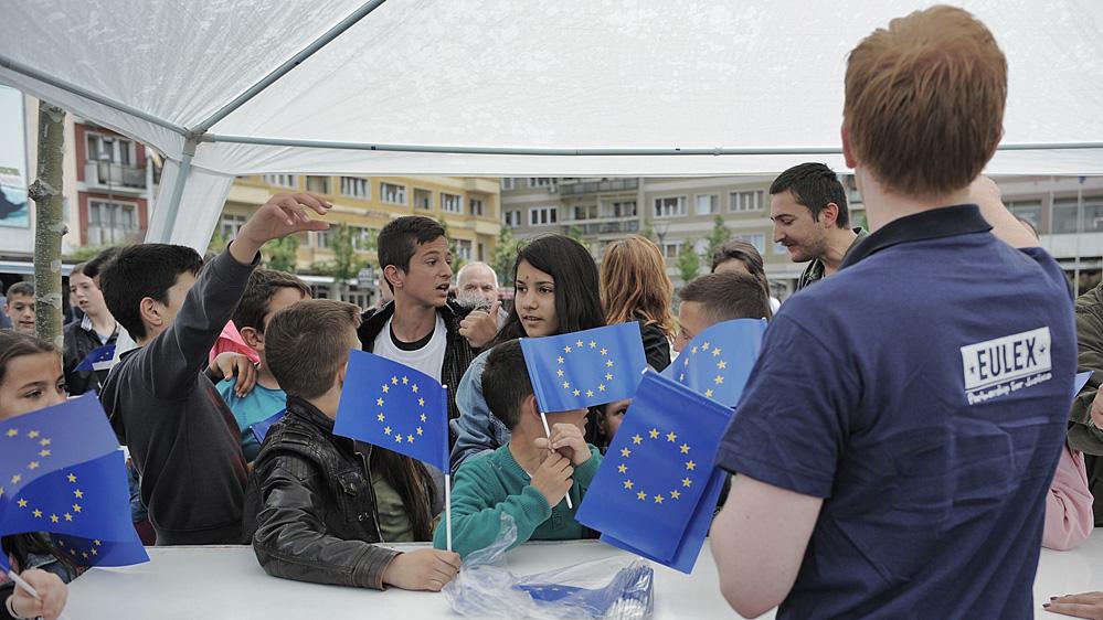 una iniziativa della missione Eulex in Kosovo (Fonte: Eulex)