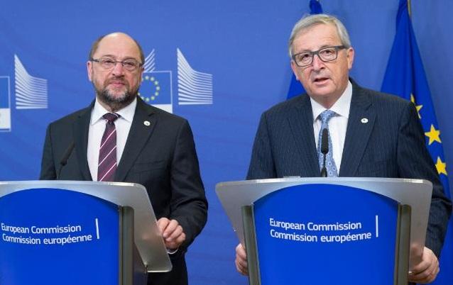 Schulz Juncker