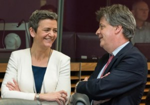 salvabanche, hill, vestager, banche, commissione europea