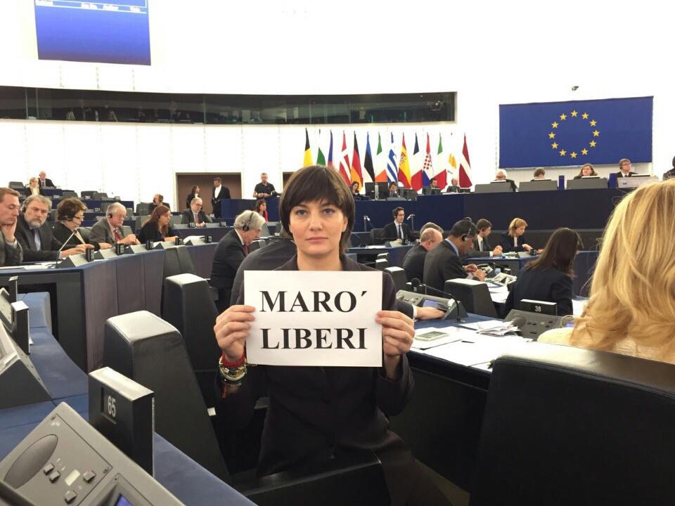 Lara Comi, Marò, Parlamento europeo