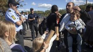 Danimarca polizia rifugiati