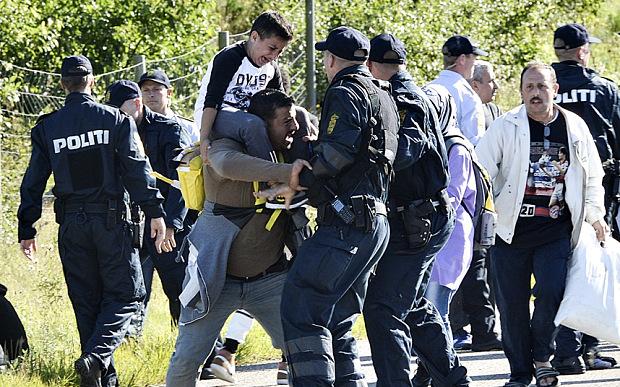 Schengen Danimarca