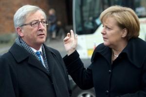 Merkel Juncker