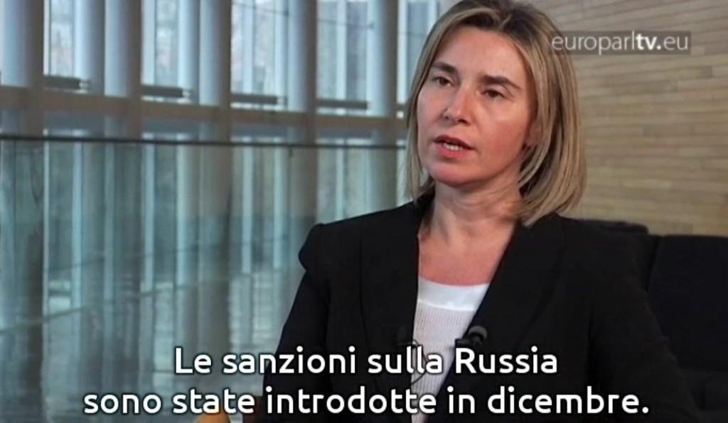 Mogherini EuroparlTV