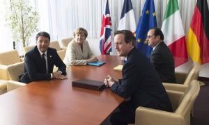 Toia, Renzi, Juncker