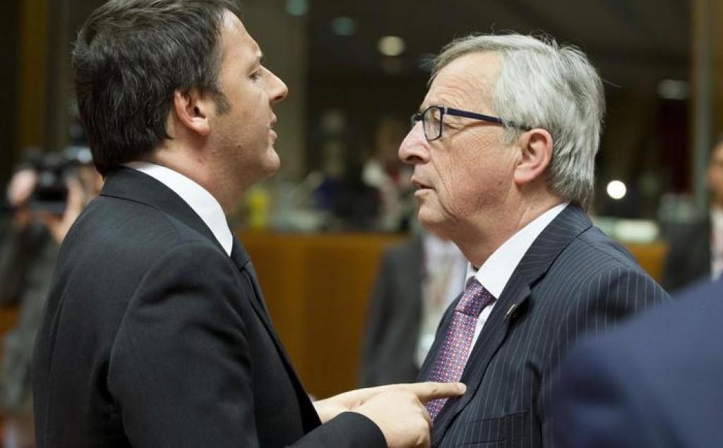 Renzi Juncker