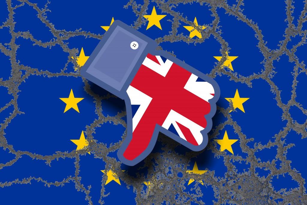 Symbolbild zum drohenden Brexit nach der von David Cameron angestrebten Volksabstimmung in Großbrita