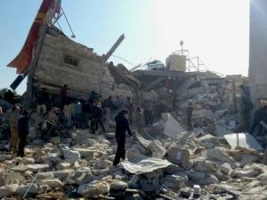 L'ospedale di Medici senza frontiere distrutto da un attacco aereo
