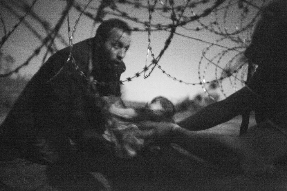 Ungheria, Serbia, migranti, foto, premio, World press photo