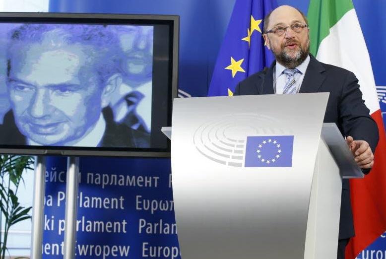 L'inaugurazione della sala dedicata a Moro al Parlamento europeo - foto European Union 2016 - Source : EP