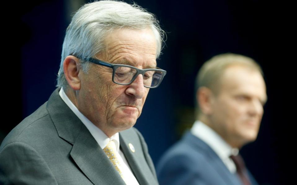 Juncker Tusk schengen