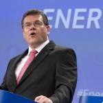 Marcos Sefcovic, vicepresidente della Commissione europea per l'unione energetica