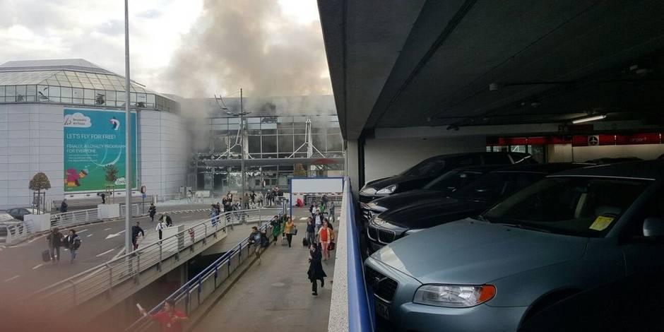 Bruxelles, aeroporto, bombe, esplosioni