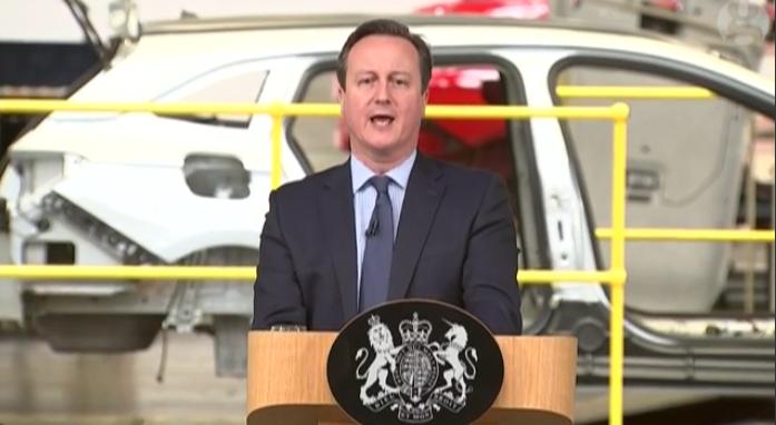 Brexit, Cameron, discorso