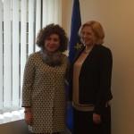 Giuffrida (Pd) incontra Cretu (Commissaria Regioni): decise azioni a favore delle Isole Ue
