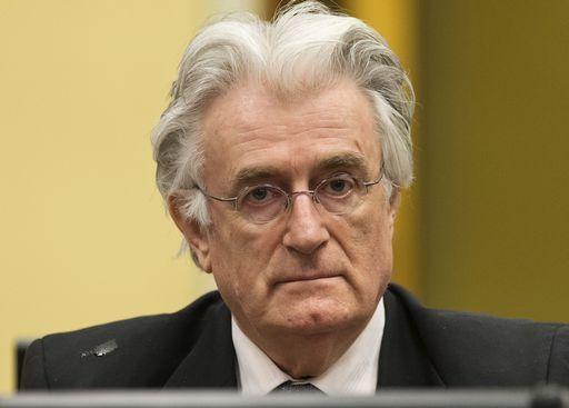 Radovan Karadzic, Srebrenica, condannao