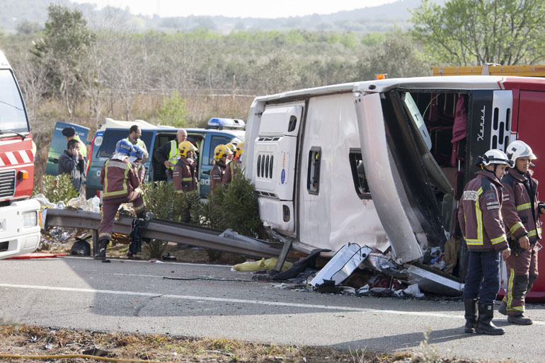 studentesse, spagna, erasmus, incidente, bus