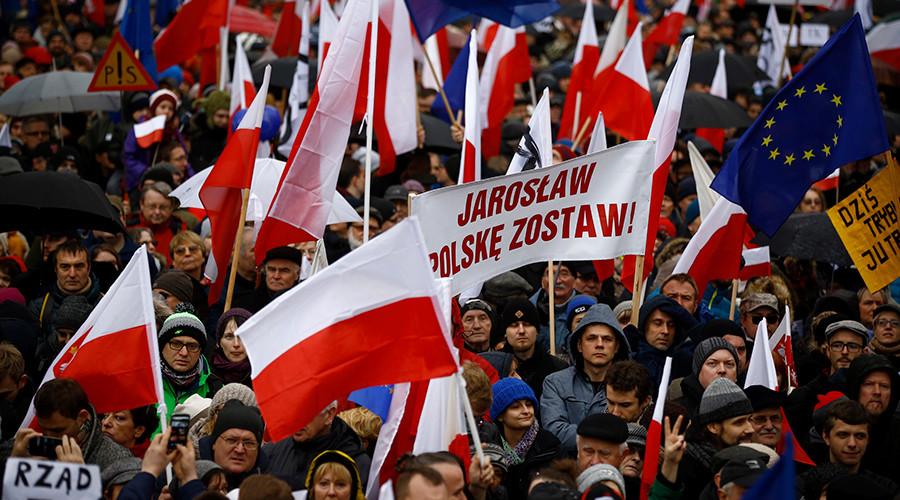 polonia manifestazione