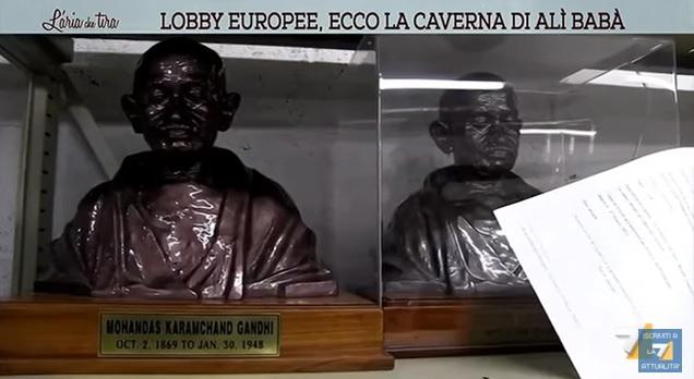Commissione europea, lobby, la7, regali