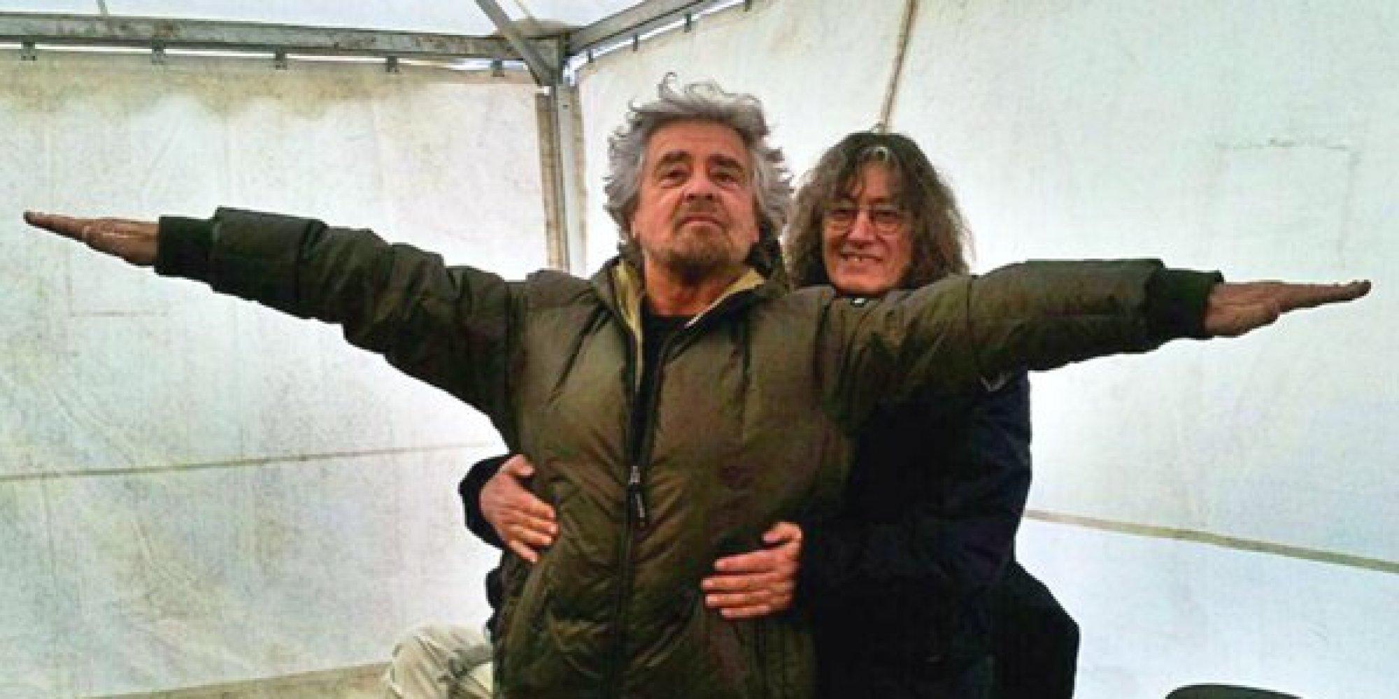 Grazie a Grillo e Casaleggio senza di     loro noi m5s  non ci saremmo mai stati