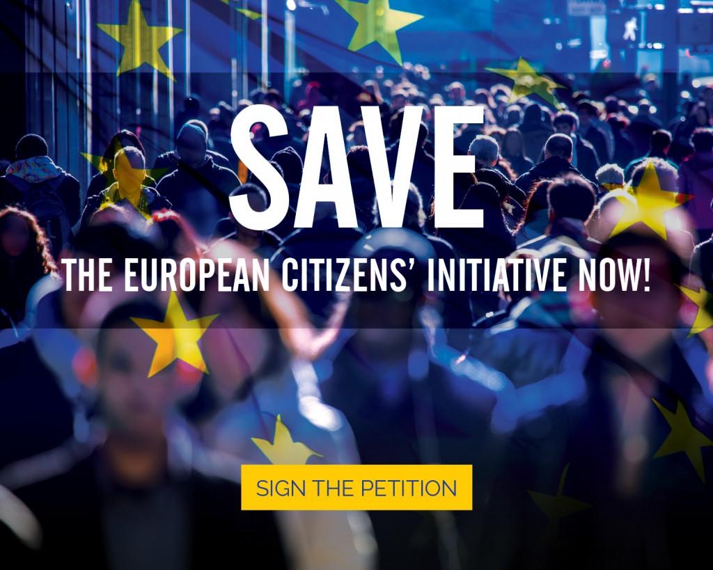 Iniziativa dei cittadini, commissione europea, Save Ice