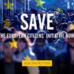 Appello alla Commissione: bisogna salvare l'Iniziativa dei Cittadini Europei