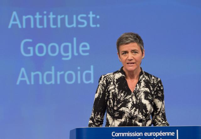 la commissaria alla Concorrenza, Margrethe Vestager